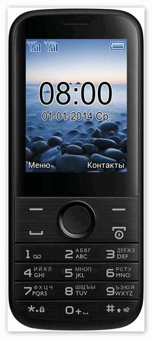 Модель кнопочного телефона