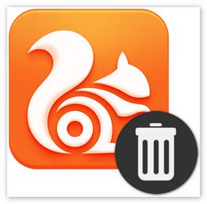 Как полностью удалить Uc Browser