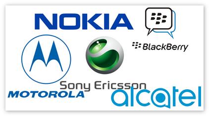 Разнообразие брендов кнопочных телефонов