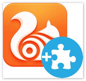 Установка расширений для браузера Uс Browser